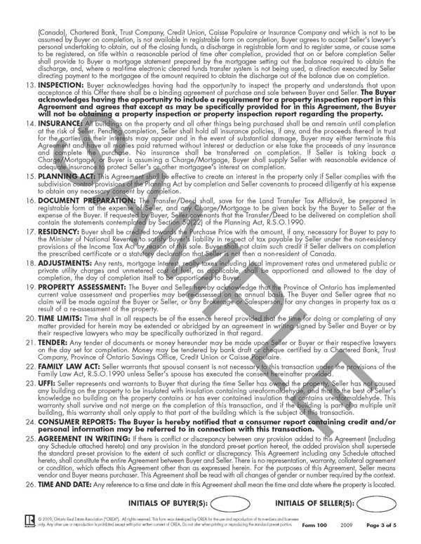 Agreement Of Purchase And Sale Hicait